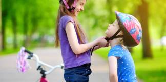 Biking Safety:How Helmet Protects a Child ?