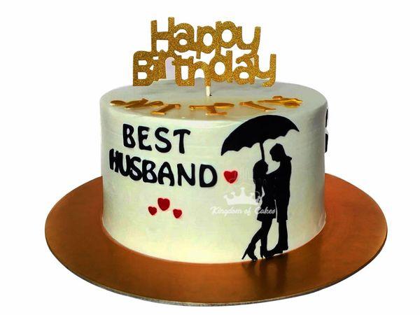 Birthday Cake For Husband Buy Romantic Cake For Hubby