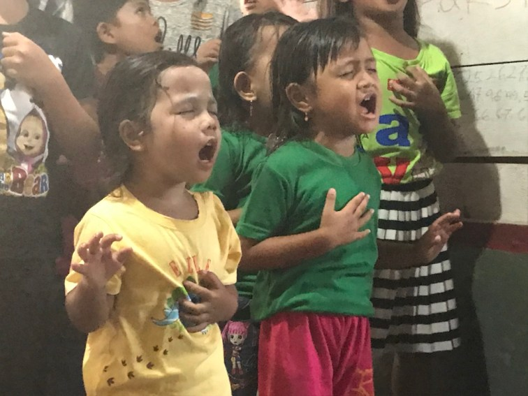 One of our favourite photos of this trip. Childrens ministry, Batam Island, Indonesia 2019