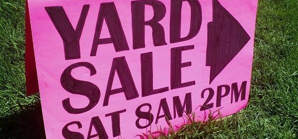 Community Yard Sale 2017