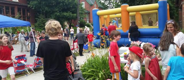 Duke Street Canada Day Party