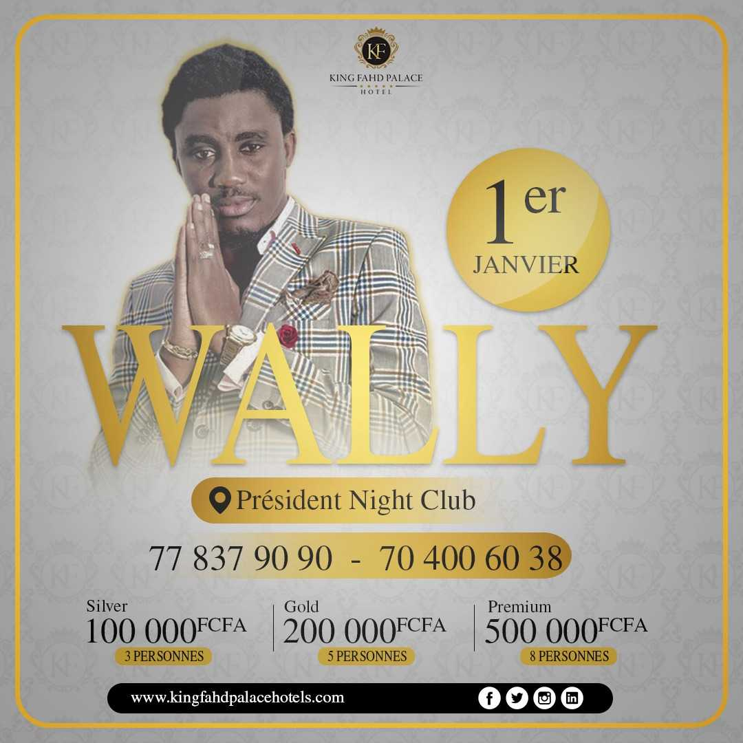 Wally Ballago Seck au Président Night Club