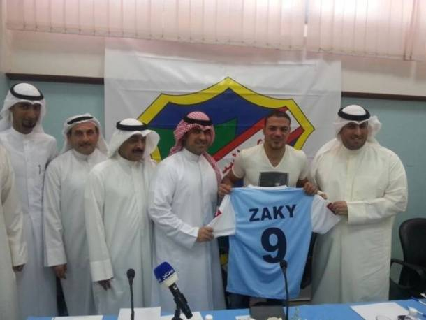 Amr Zaki signs for Al-Salmiya