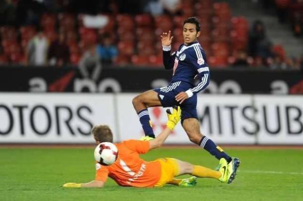 Mahmoud Kahraba scores