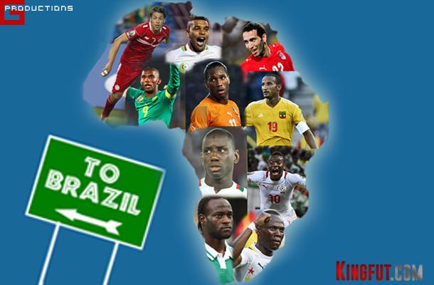 Africa 2014 World Cup Brazil