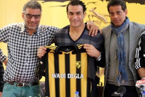 Essam El-Hadary signs - Wadi Degla