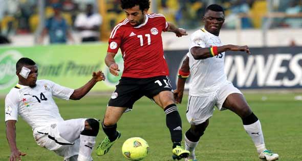 Mohamed Salah vs Ghana