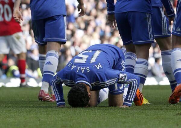 Salah nets first Chelsea goal