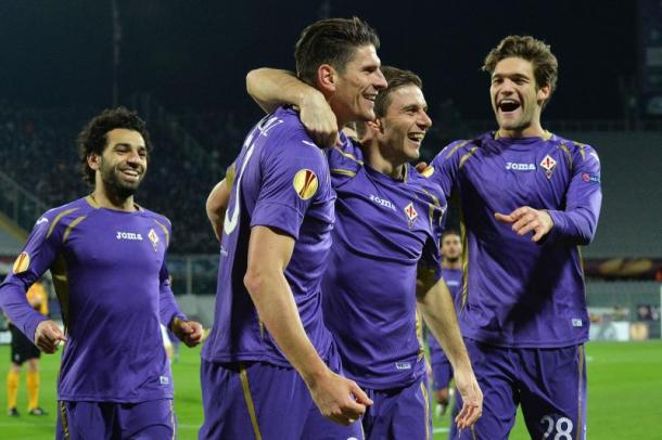Fiorentina players