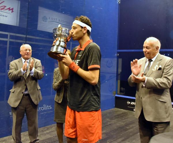 Mohamed El-Shorbagy British Open