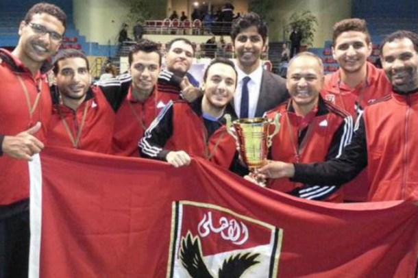 Al Ahly table tennis