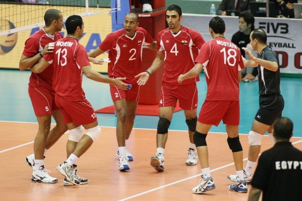 egypt-volleyball Japan 2015