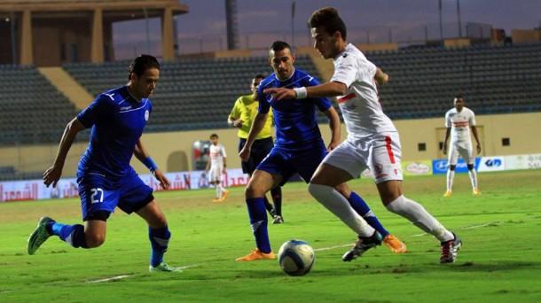 Smouha vs Zamalek score - Mostafa Fathi vs Ibrahim Salah