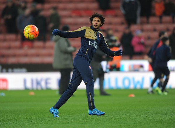 Elneny exclusion vs Stoke