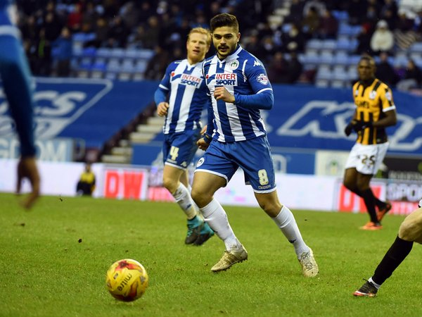 Sam Morsy debuts Wigan
