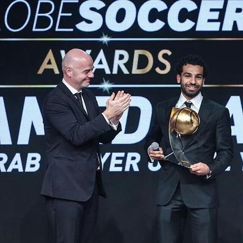 Photo: Globe Soccer Awards