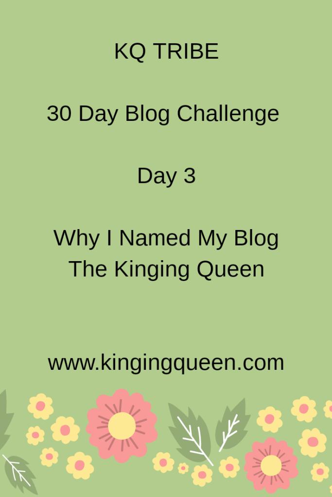30 Day Blog Challenge: Day 3