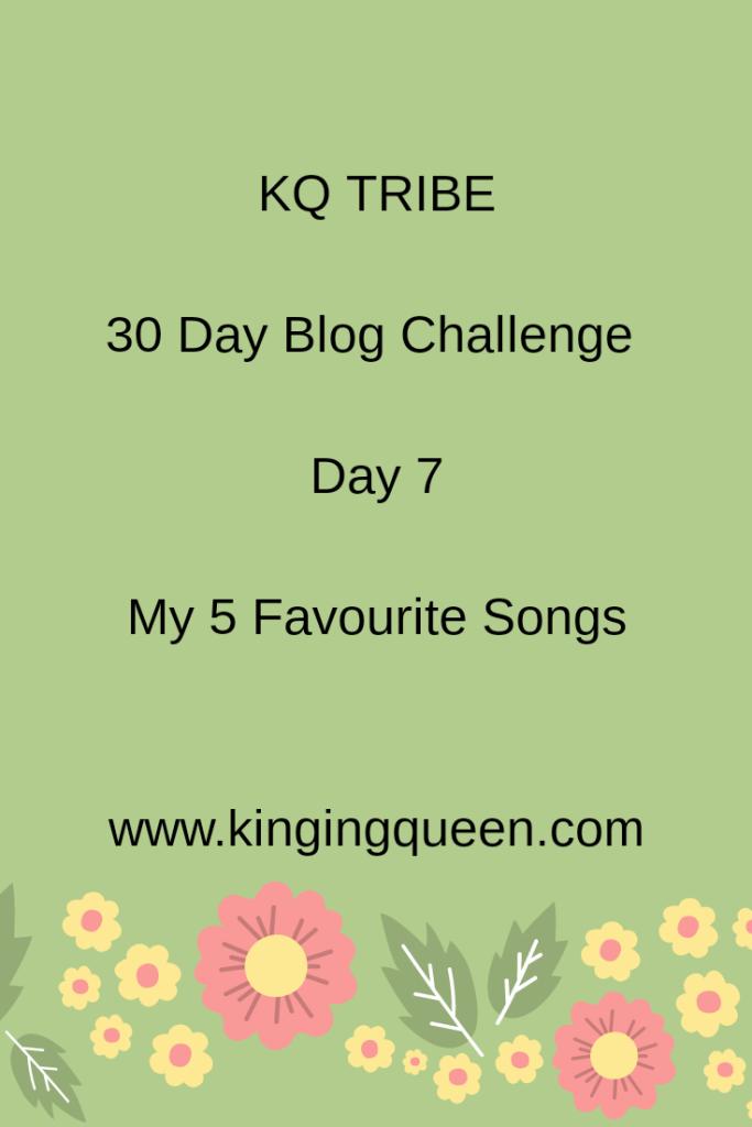 30 Day Blog Challenge: Day 7