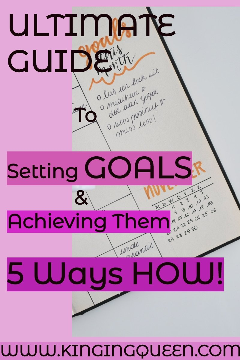 ultimate guide on how to set goals and achieve them