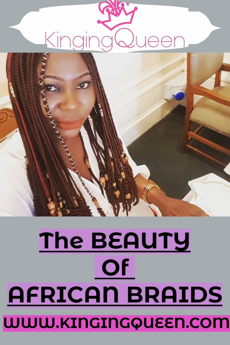 The beauty of African braids