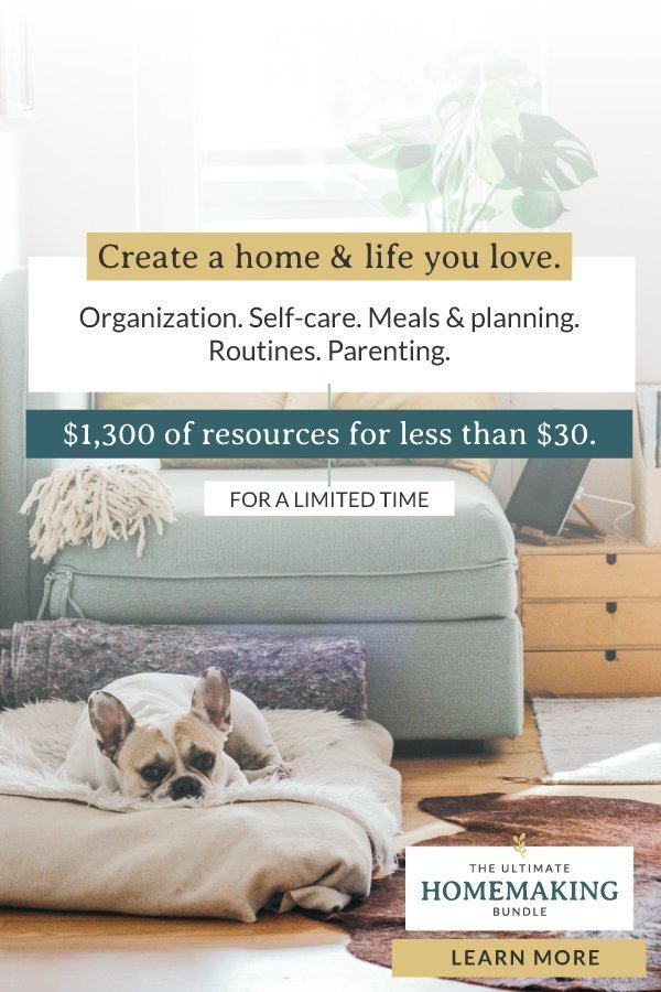 Homemaking Bundle: The Ultimate Bundles