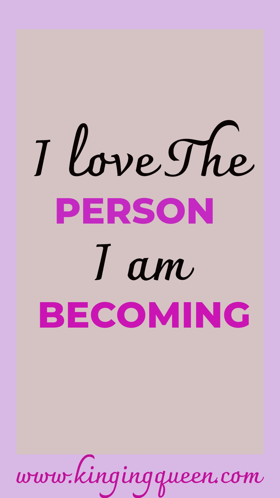 Affirmations For Self Love To Build Self Esteem Kinging