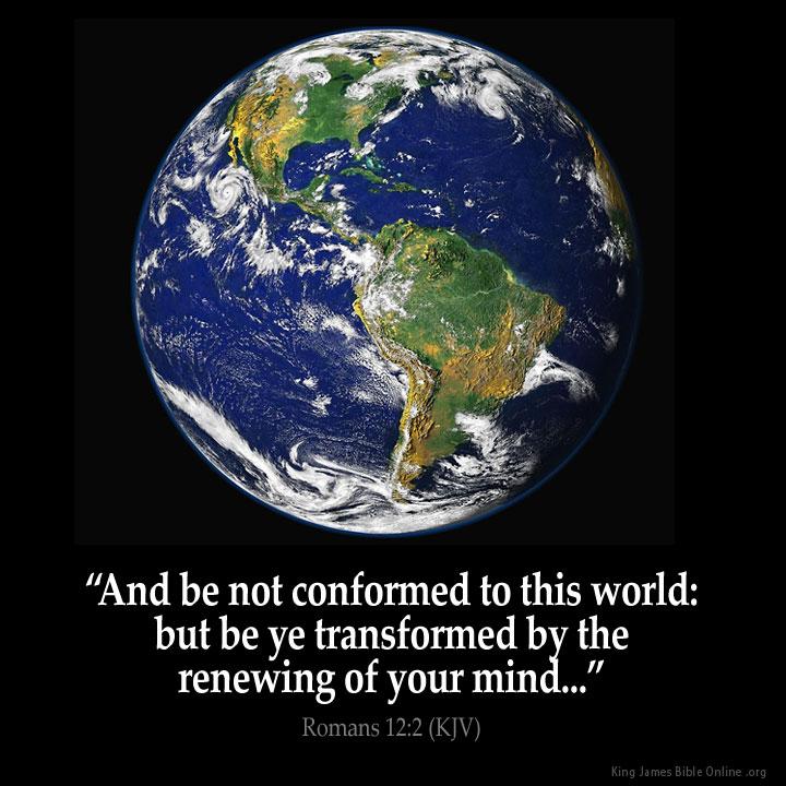 Romans 12:2 Inspirational Image