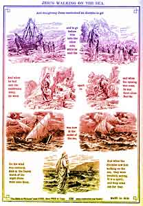 Matthew Chapter 14: Jesus Walking on the Sea