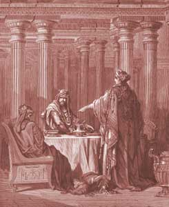 Esther Chapter 7: Esther Accuses Haman