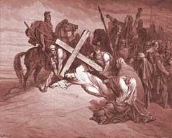 Luke Chapter 23: Jesus Arrives at Calvary
