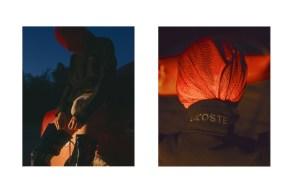 Sweater - LACOSTE | blouse - PRADA - stylist's own (worn on head)