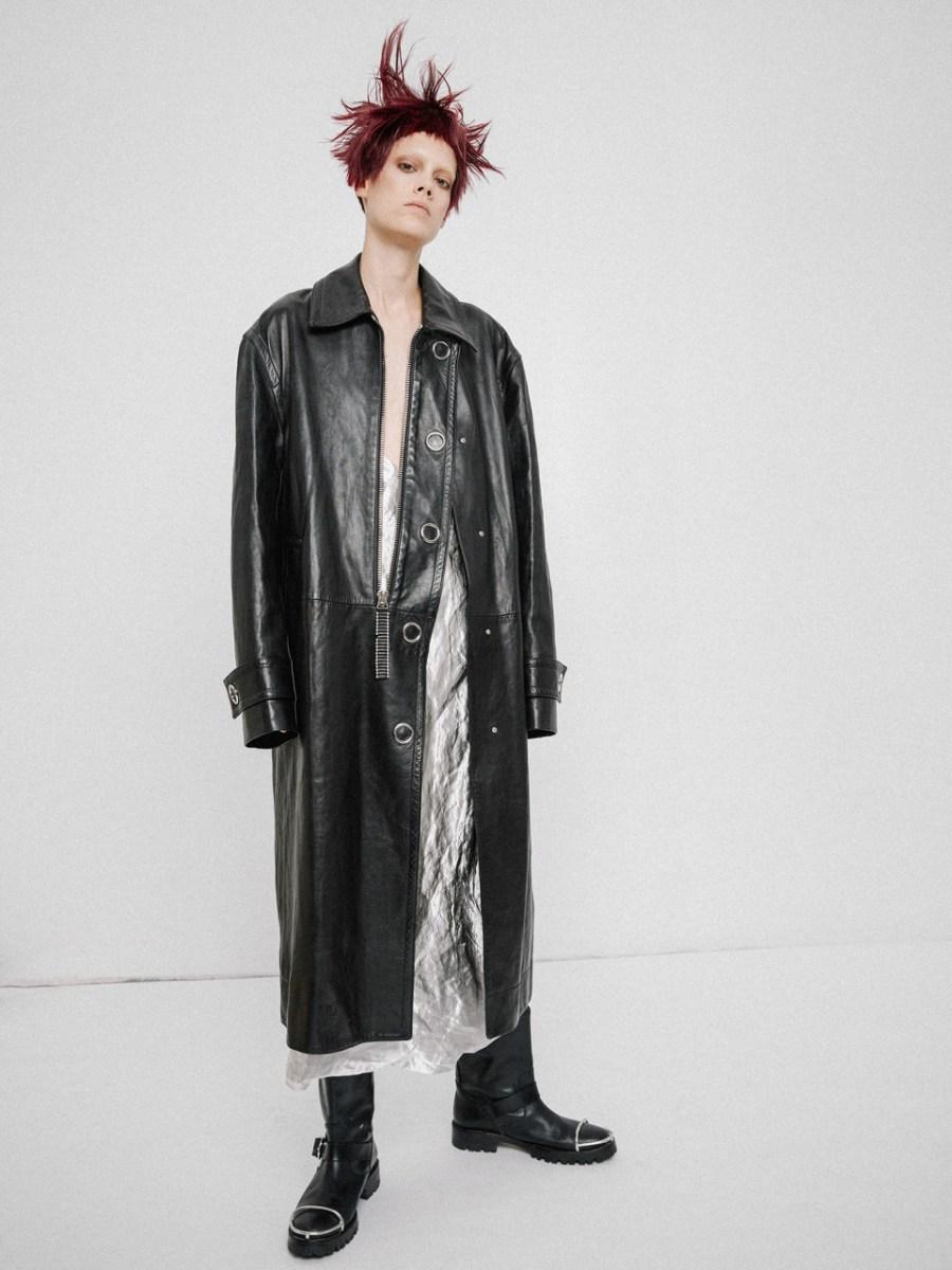 Coats and boots - ALEXANDER WANG | Dress - JILL SANDER