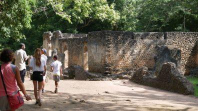 Gede Ruins Rovine di Gede Ruinen von Gede