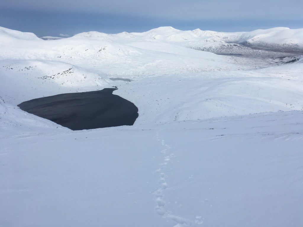 Beinn Dearg Group in winter