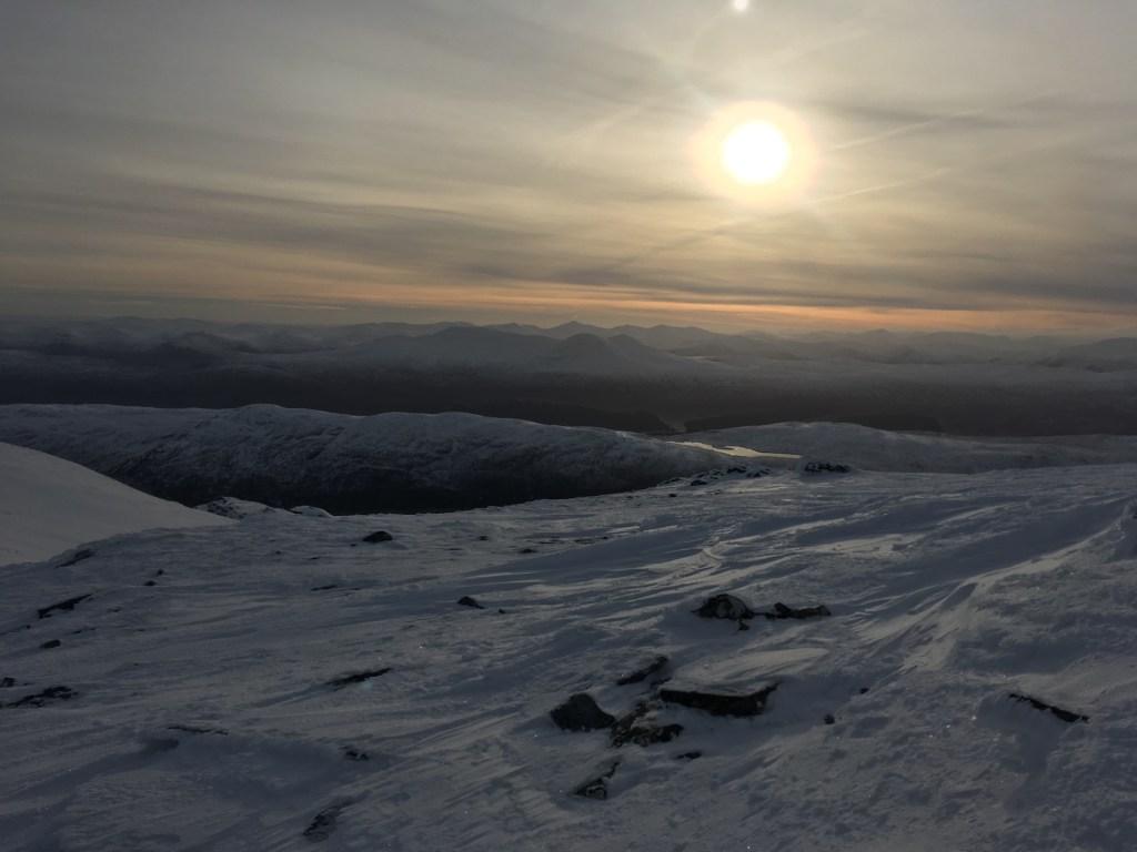 Summit view from An Coileachan