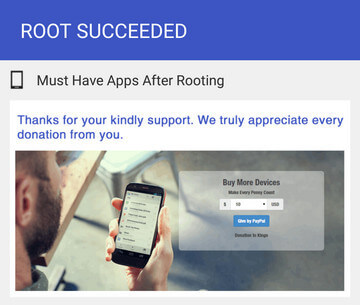 Kingo Root Apk Root Succeed