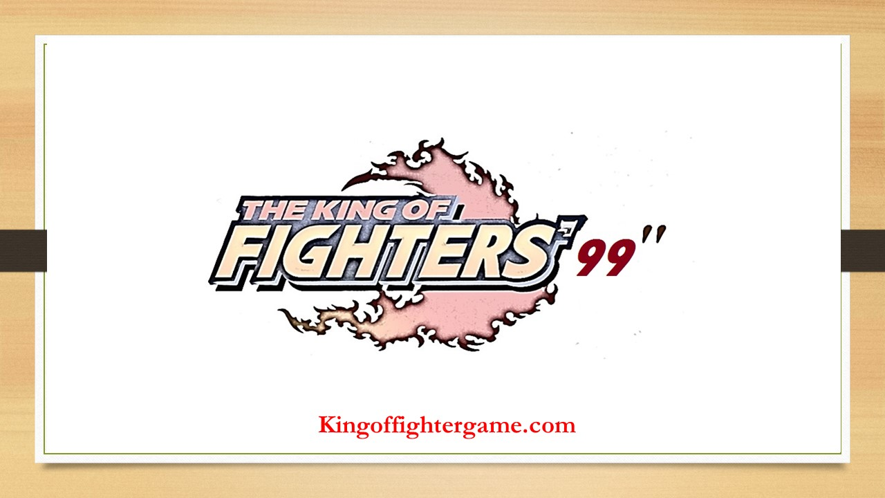 The King Of Fighter 99 Download Free Full Version PC Game