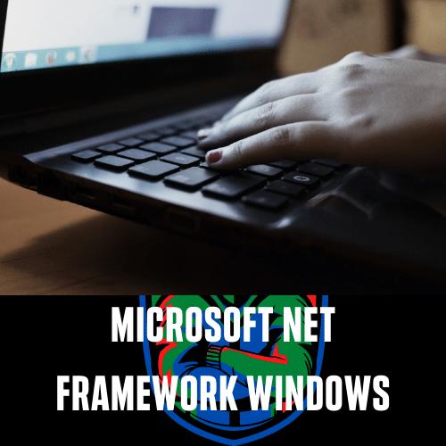 Microsoft Net Framework Windows