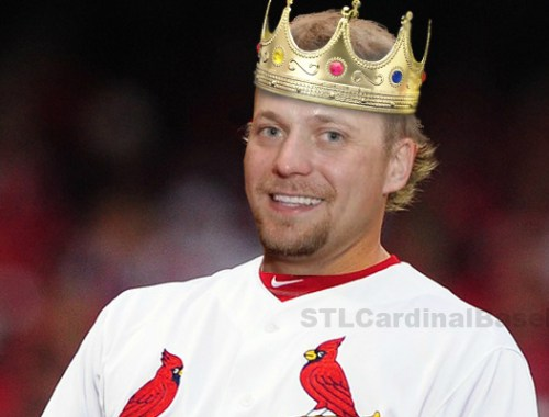 "If Trevor Rosenthal was a king he definitely would have one of the best ""ARMies"" in St Louis."