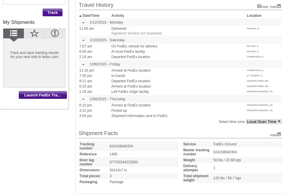 Kingpabel Blog Fedex Tracking Api Use In Your Php Project