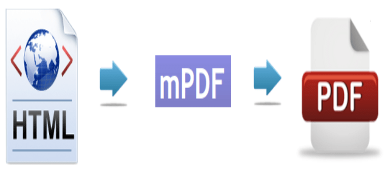 Mpdf for php to pdf