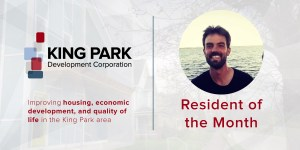 King Park Resident of the Month Austin Taylor