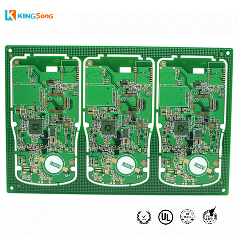 6 Layers Impedance Controls & Immersion Gold Treatment Designing Circuit Boards