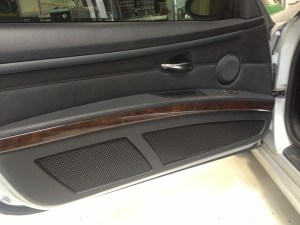 BMW Speaker Upgrade Requires Custom Fabrication