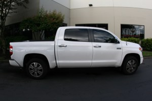Tualatin Toyota Client Gets Tundra Lighting, Clear Bra, And Tint Upgrades