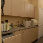 Medical Office Case Goods Made with King StarBoard® ST Upgraded to King MicroShield® Sanshade
