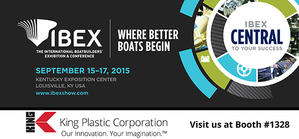 IBEX 2015 Visit King Plastic At Booth #1328