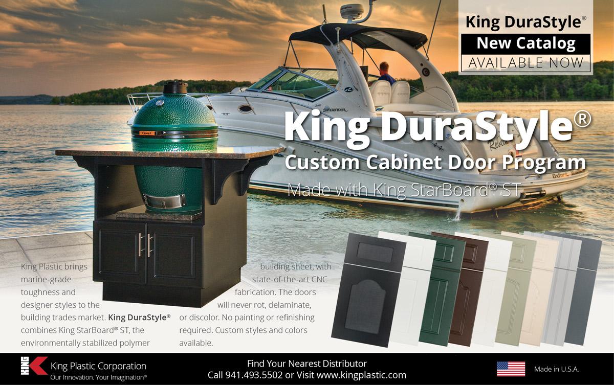 King DuraStyle Custom Cabinet Door Program   King Plastic Corporation