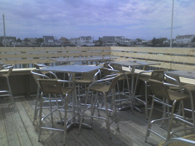 Seating area Stone Harbor Pizza