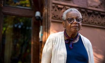 Ms. Marlene Saunders of 1217 Dean Street (Photo by Tsubasa Berg)